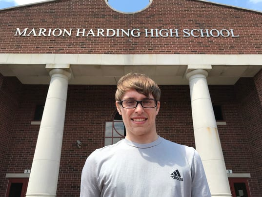 Kameron Hall Fahey Bank Athlete of the Month