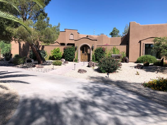Larry and Rose Mary Winget paradise valley home