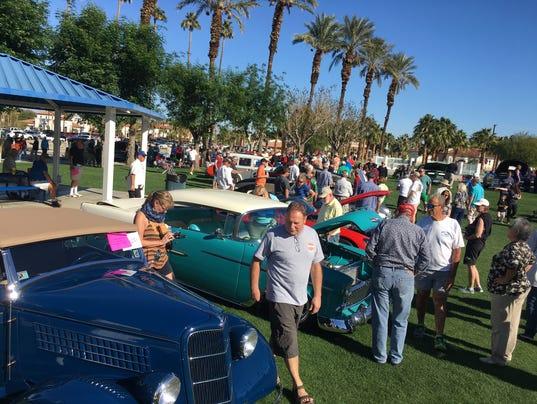 Palm Springs Car Show February