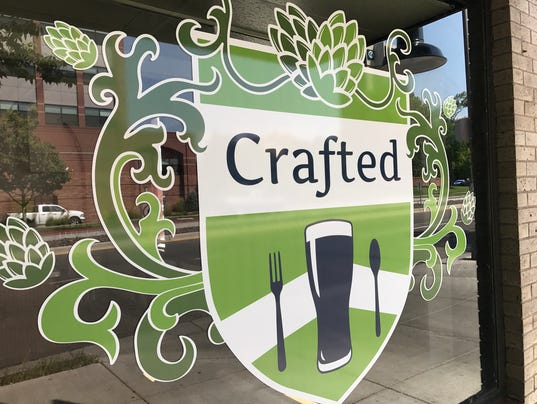 Crafted Fort Collins Menu