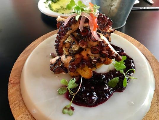 Taverna Wood Fire octopus