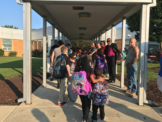 Cheers For Elementary Classrooms ~ Million father march makes its way to a somerset school