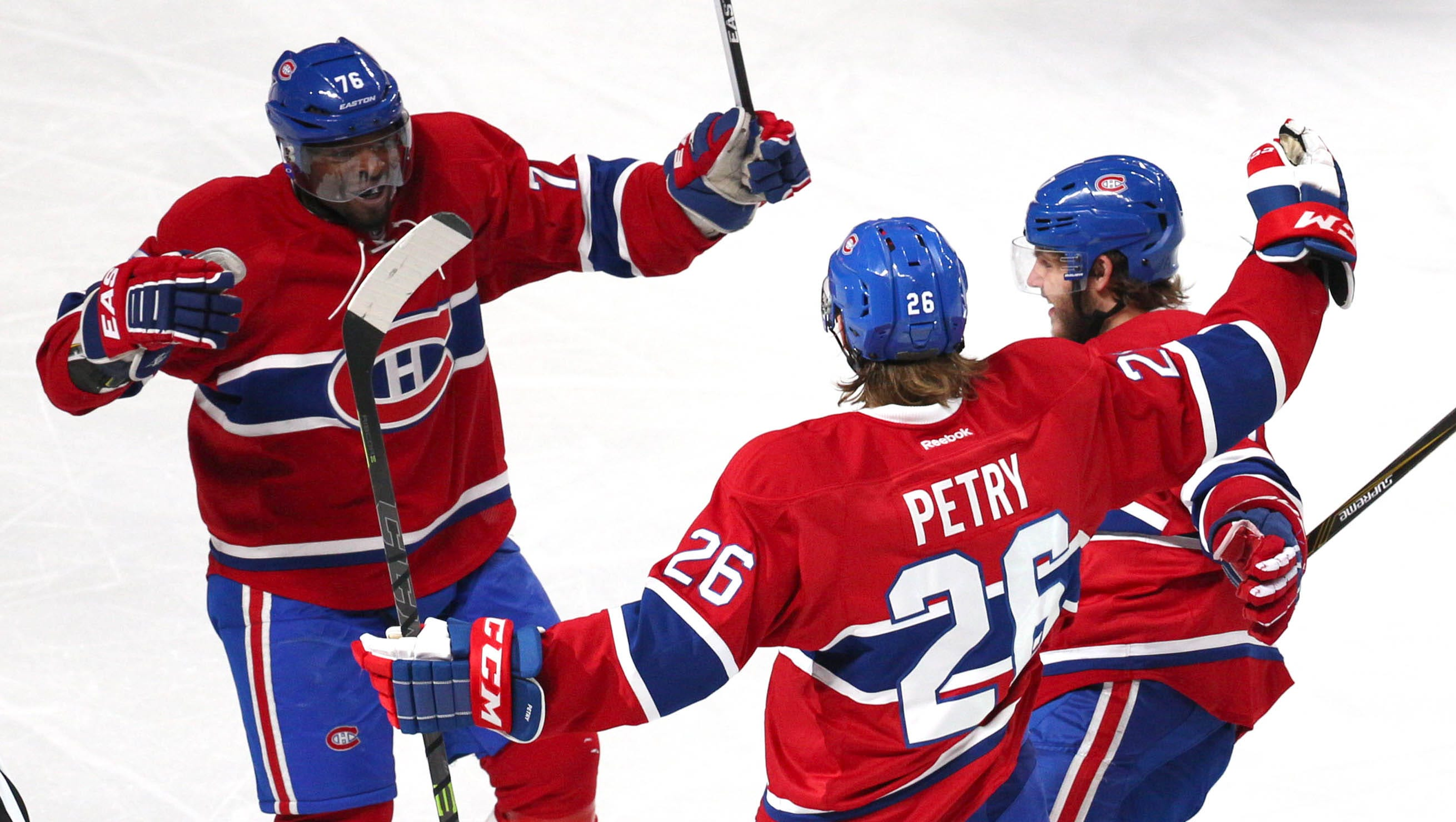 Jeff Petry Brendan Gallagher Lift Perfect Canadiens Over Red Wings