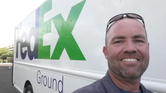 Chandler resident Sean Saxon will compete in the National Truck Driving competition in Orlando.