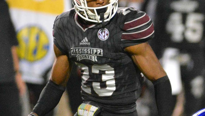 Mississippi State corner Taveze Calhoun was named a National Scholar-Athlete on Thursday.