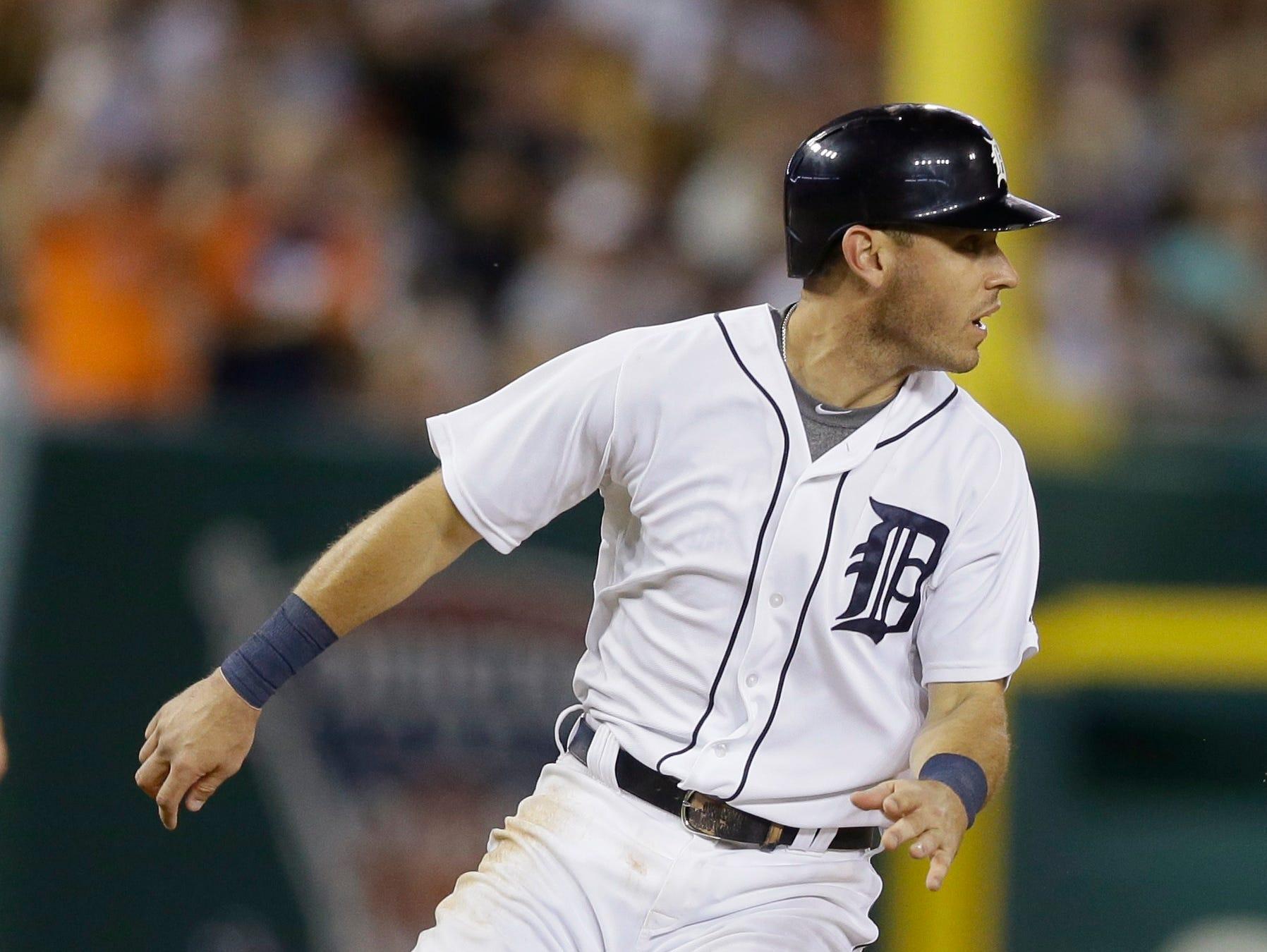 Detroit Tigers' Ian Kinsler.