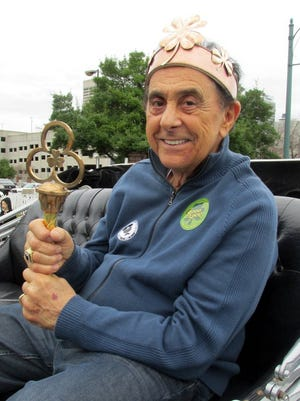 George Klein was king of the Silky Sullivan's St. Patrick's Parade, held March 12 on Beale Street. About 12,000 attended.