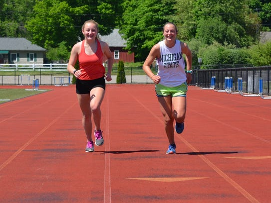The Harper Creek girls track team has gone undefeated