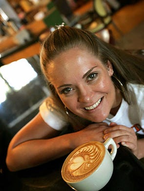 Klatch Coffee in Rancho Cucamonga, Calif., is home of Heather Perry, the two-time winner of the United States Barista Competition.