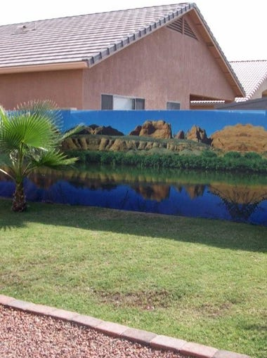 Wall Sensations outdoor murals withstand Arizona's weather throughout the year. The company is based in Phoenix.