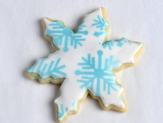 Only about one-third of Americans prefer crisp cookies, like this holiday sugar cookie, over chewy cookies.