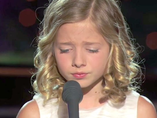 Jackie Evancho became a star at age 10, finishing second
