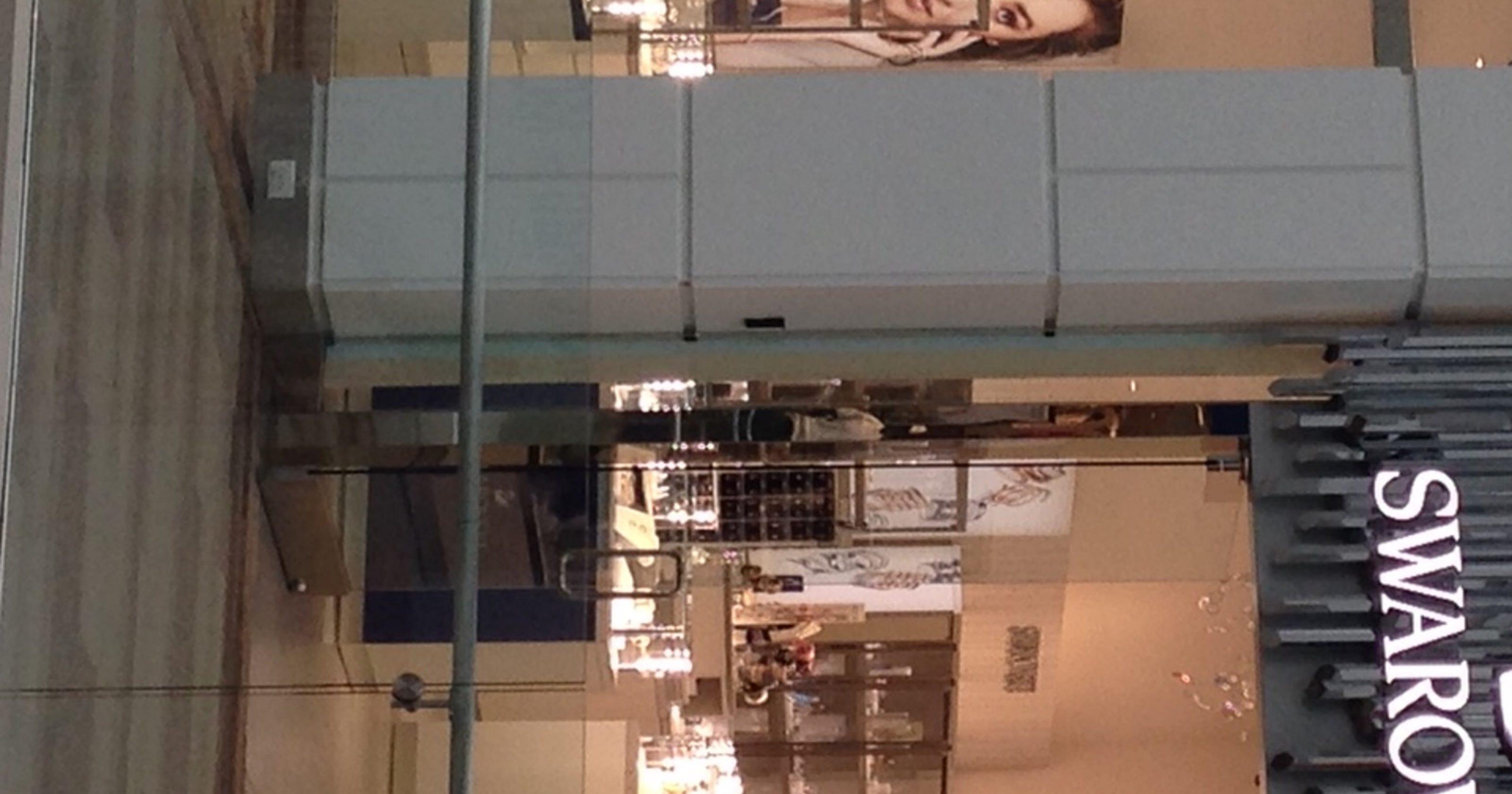 6c6acd11b Menlo's Swarovski crystal reopens after renovation