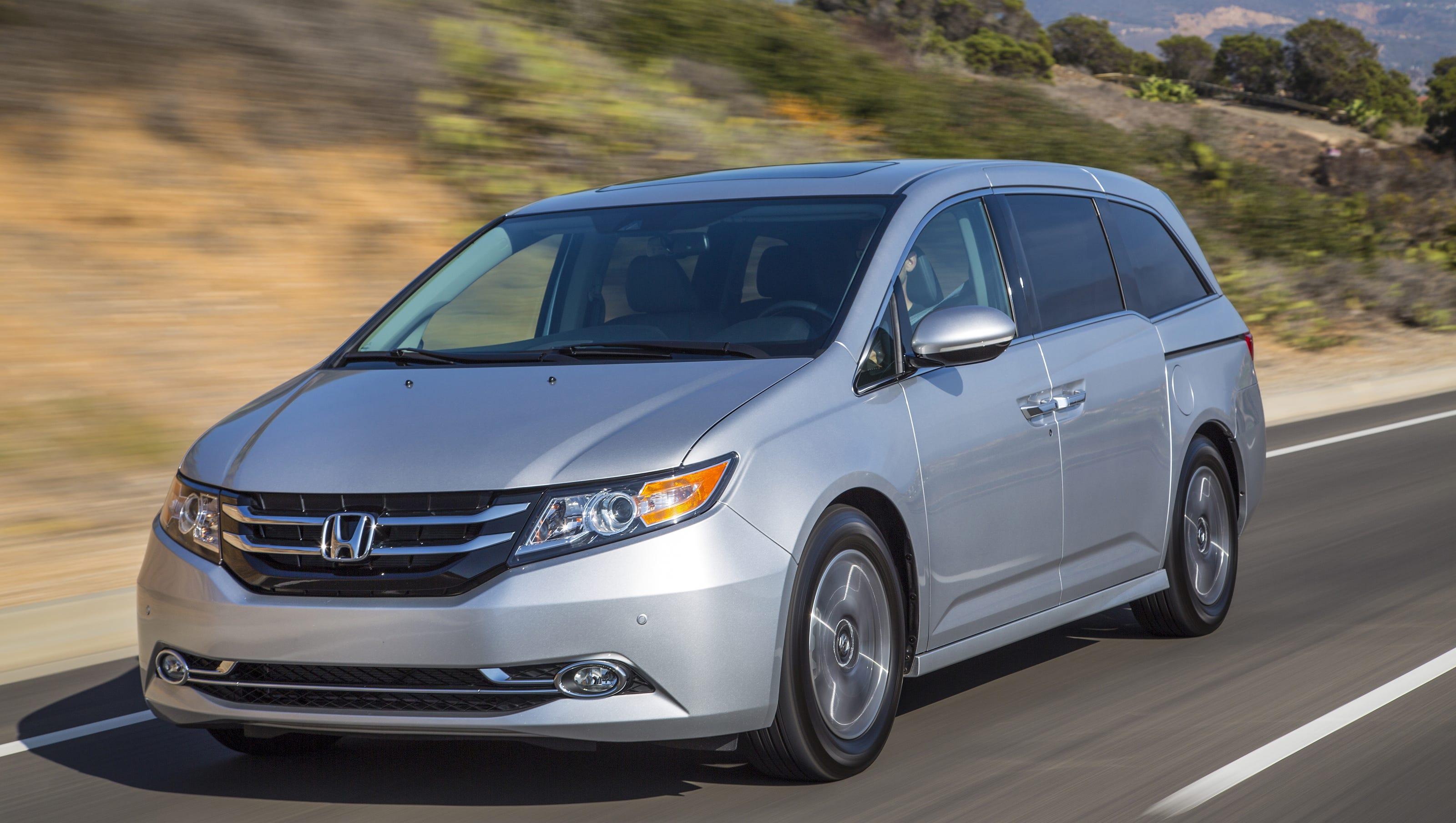 Honda Odyssey: 900,000 minivans recalled