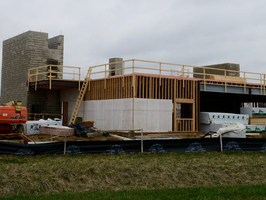 Construction continues at the Landings at Terra Village,