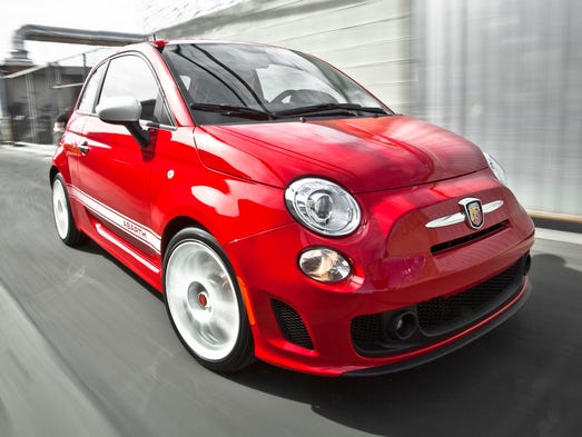 Fiat 500 Abarth coupe.