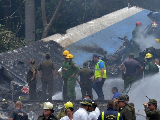 cuban plane crash