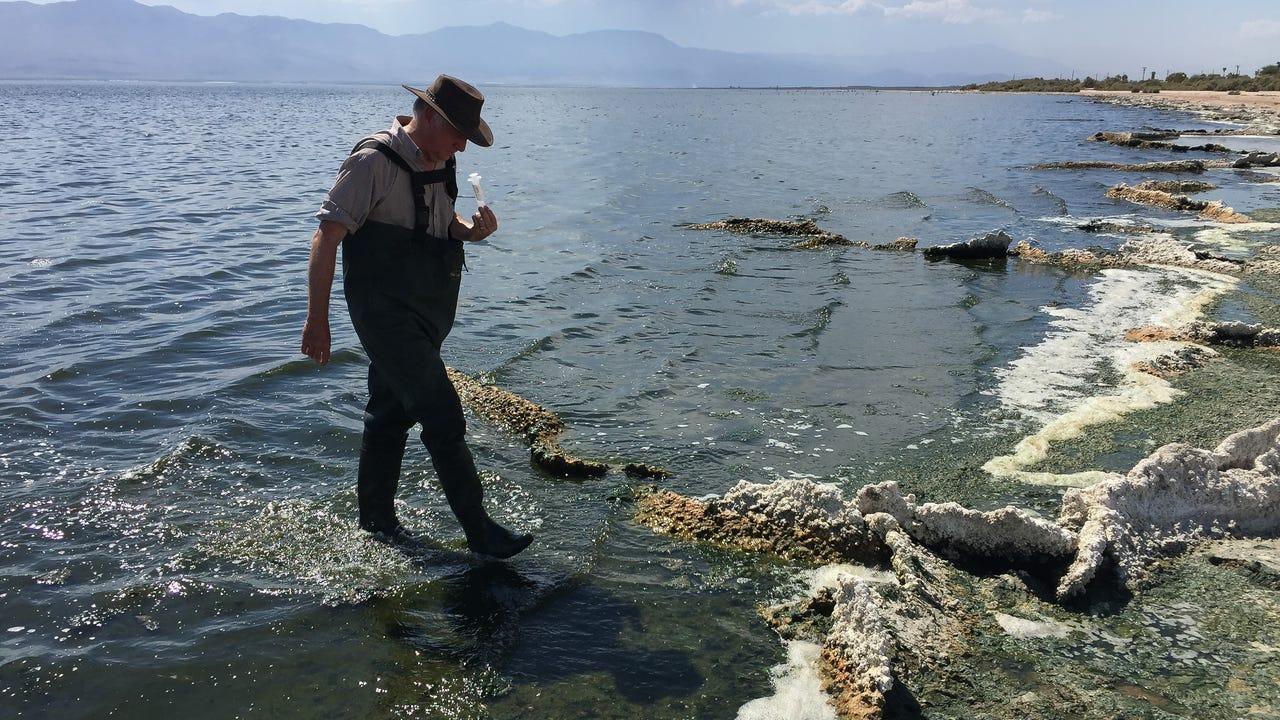 Salton Sea researcher raises concerns about dust