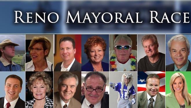 2014 Reno mayoral race candidates