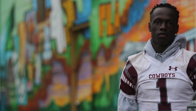 Madison County senior running back Derrick Staten Jr. is the 2017 All-Big Bend Offensive Player of the Year in football after recording 30 total touchdowns amid the Cowboys' 1A state championship season.