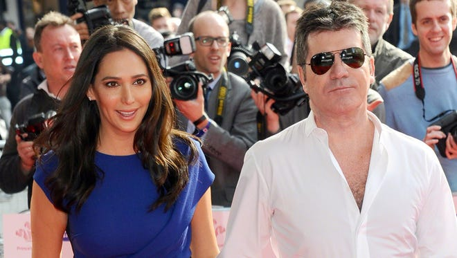 Lauren Silverman & Simon Cowell attends The Prince's Trust & Samsung  Celebrate Success Awards at Odeon Leicester Square on March 12, 2015 in London, England.