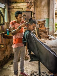 """The Barbershop,"" Debbie Rubin, Sea Ranch Lakes, 27"
