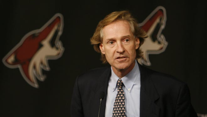 """""""We're thrilled to have him,"""" General Manager Don Maloney said of John Chayka. """"I think he's going to touch all the different areas of our organization."""""""