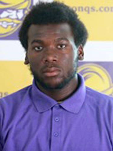 Lakia Henry, a sophomore linebacker from Dodge City
