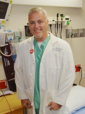 Brian Boggs is an emergency room physician at Health First's Cape Canaveral Hospital.