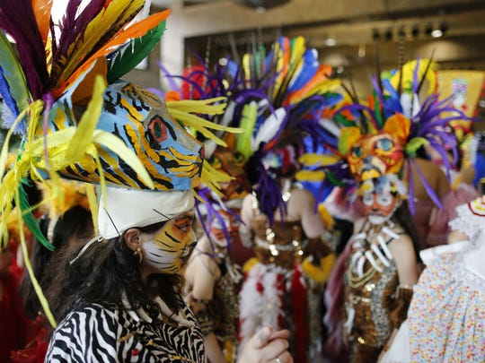 RIT's Student Alumni Union hosted a Barakoa: The African Masquerade event on Sunday, April 26, 2015.