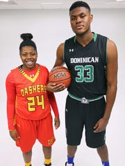 Local standout basketball players Arike Ogunbowale