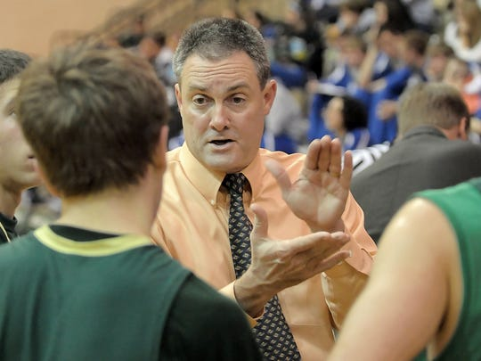 FILE – After 28 seasons at Greenwood, boys basketball coach Bruce Hensley is retiring after this season.