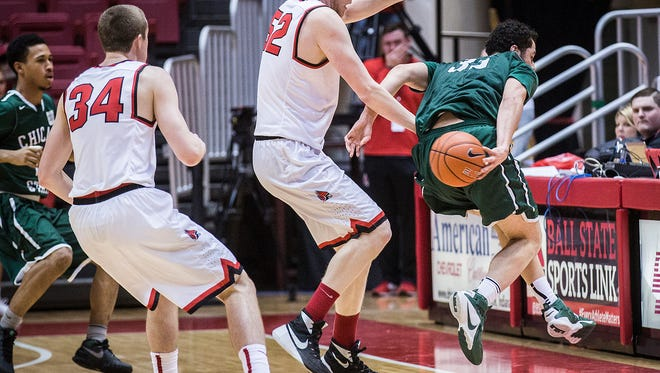 Ball State defeated Chicago State at Worthen Arena Thursday, Dec. 31, 2015.