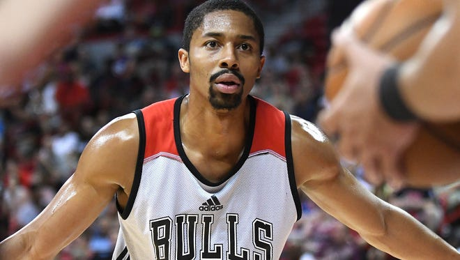 Bulls guard Spencer Dinwiddie