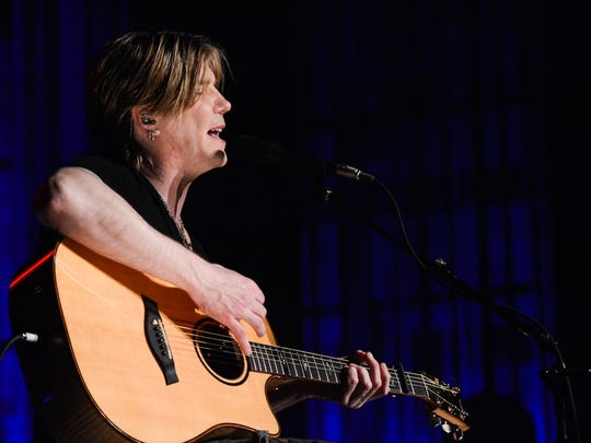 John Rzeznik of Goo Goo Dolls April 27 at Meyer Theatre: One of eight sold-out shows at the Meyer Theatre in 2014 — more than any other local venue.