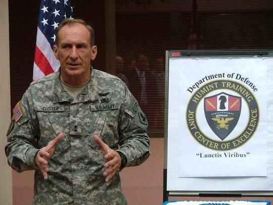 Maj. Gen. John Custer in 2007.