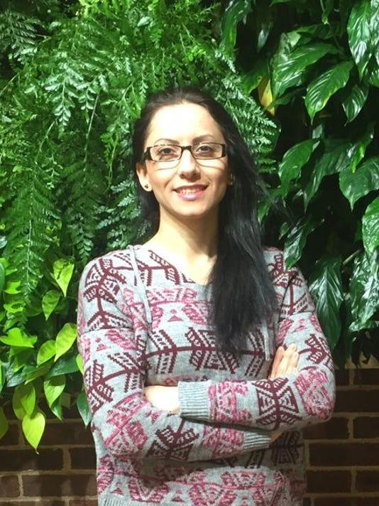 RVCC student Faranak Aminifar