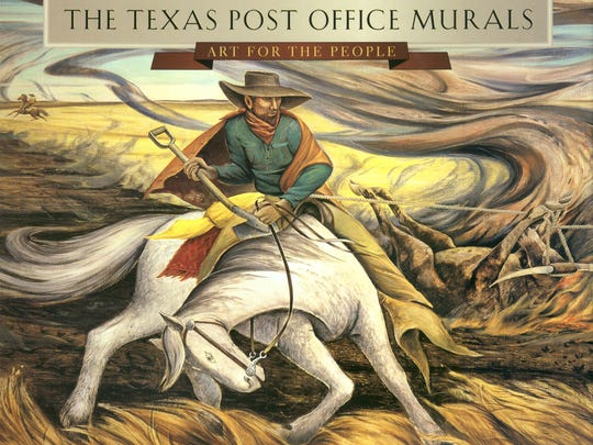 """The Texas Post Office Murals"""