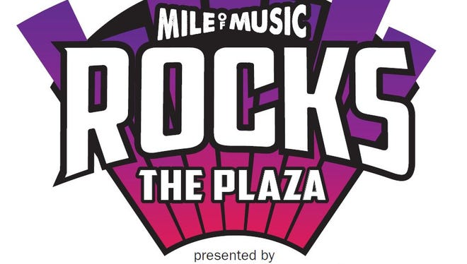 Mile of Music Rocks the Plaza will feature four concerts in Houdini Plaza in June through September.