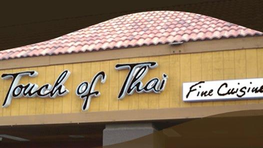 Το Touch of Thai, το οποίο ειδικεύεται στα ταϊλανδέζικα κάρυ, τα χυλοπίτες και τα θαλασσινά, έχει κλείσει.