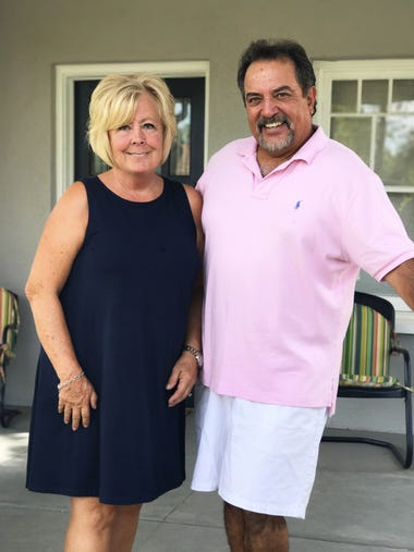 Anthony and Debbie Moncayo retired and downsized as