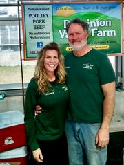 Tammera and Brandon Dykema of Dominion Valley Farm