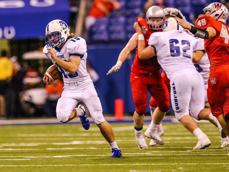 Bishop Chatard was too much for West Lafayette Friday afternoon in the Class 3A title game.
