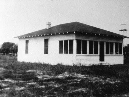The Nurses Refuge, located next to the original hospital, was home for nurses in the 1920s.