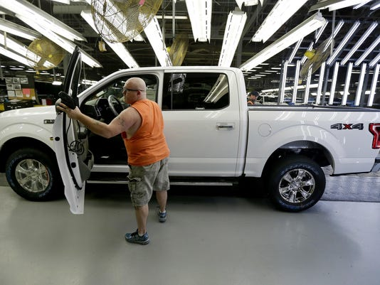 Ford Pickup Recall