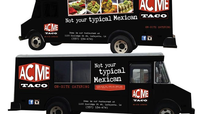 Acme Taco announced a new food truck this week.