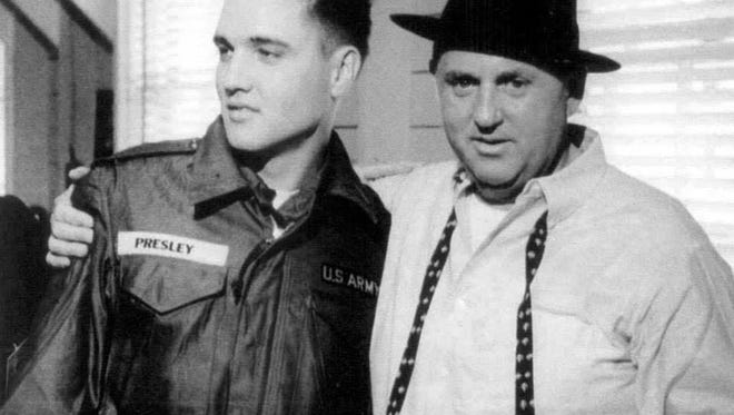 The Private and the Colonel: Presley and Parker.