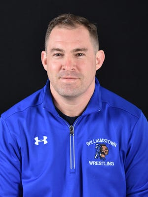 Williamstown wrestling coach Jon Jernegan.