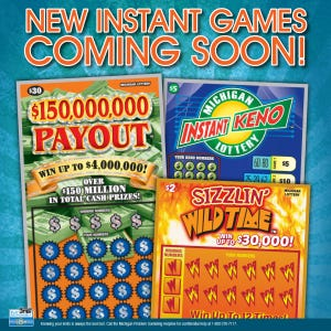 Michigan lottery instant tickets top remaining prizes