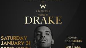 Drake takes over the W Scottsdale.